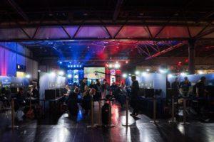 Gamescom Messestand im Bereich der Afrika Spiele