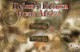 helens return from afrika